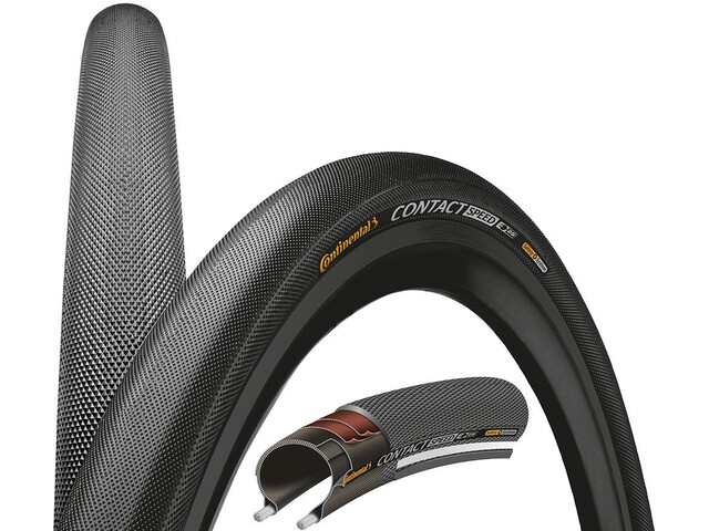 "Continental Contact Speed Faltreifen 28"" E-25 schwarz"